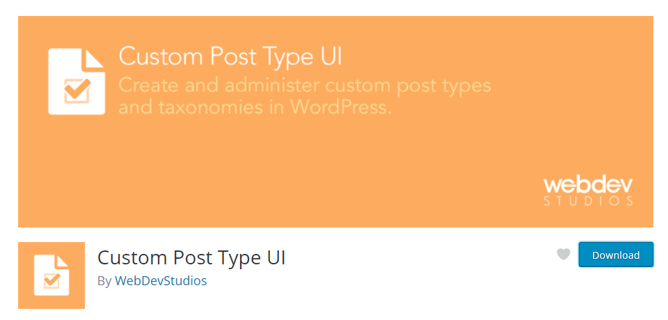 custom post type ui image
