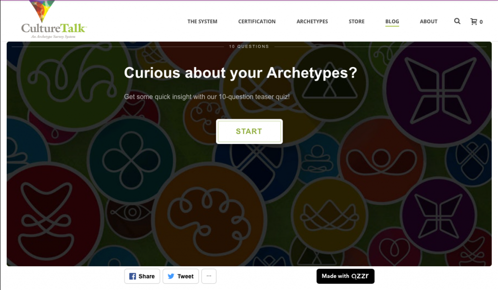 archetype examples test for brands