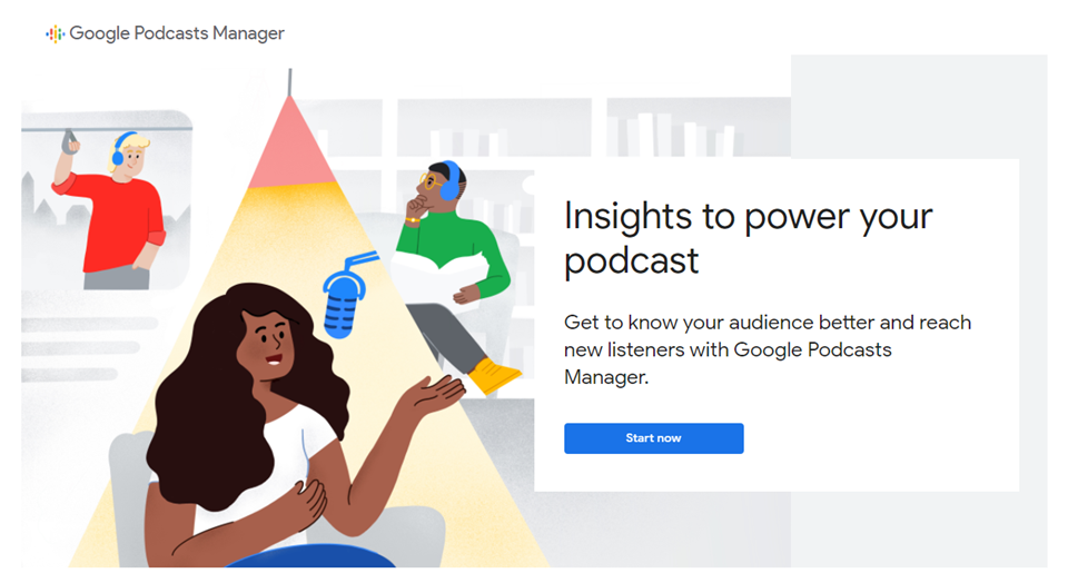 google podcast distribution