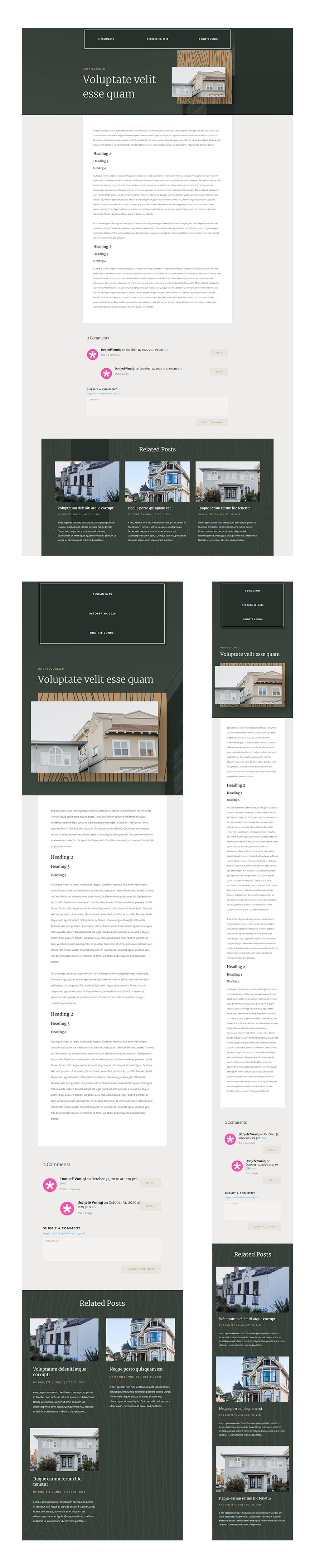 realtor blog post template