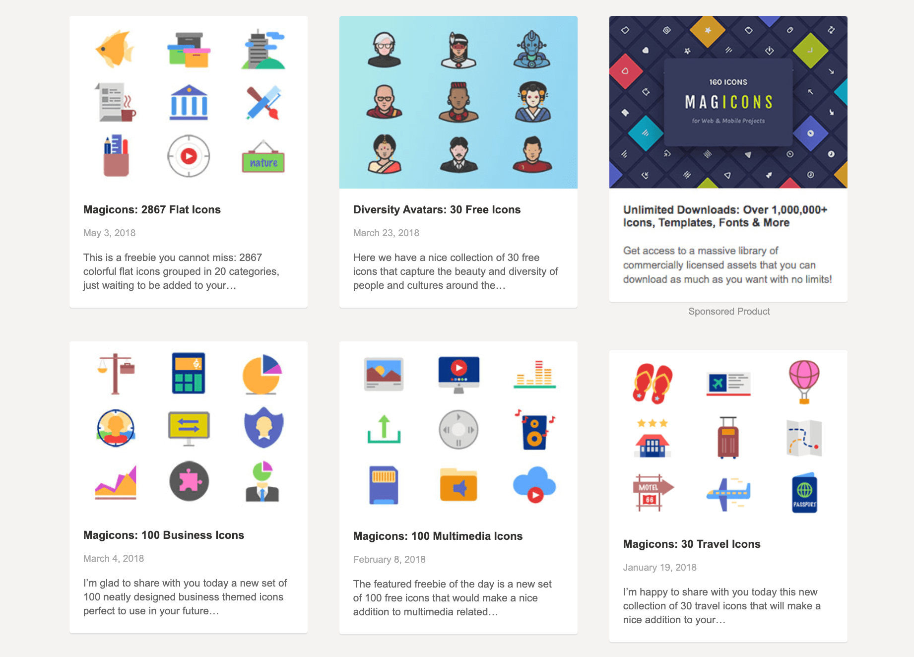 Free icons from GraphicBurger.