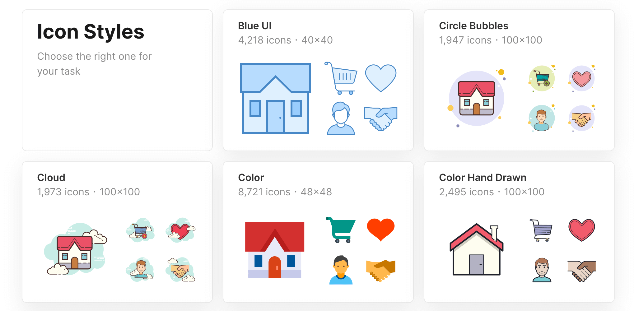 Free icon sets from Icons8.