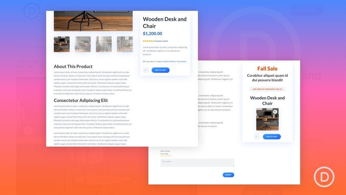 How to Build a Custom Sidebar with Sticky Columns for a Divi Product Page Template