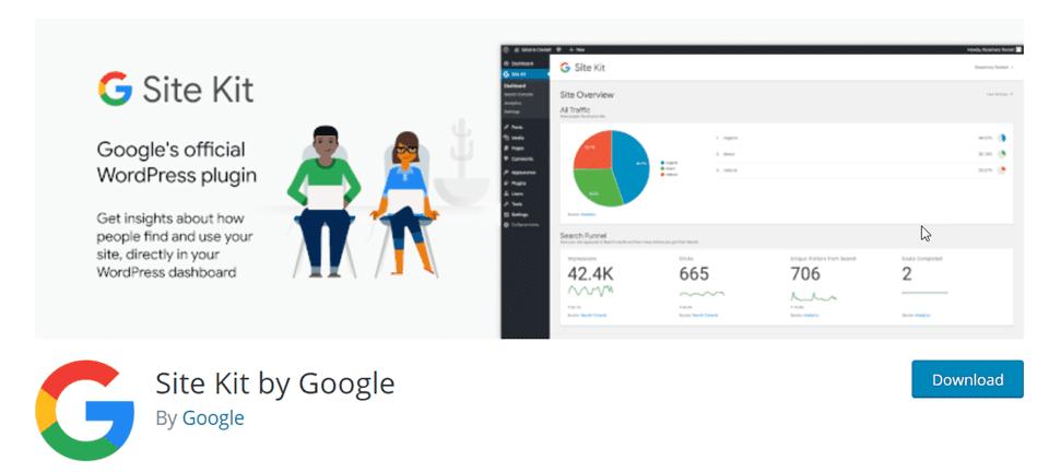 google site kit is an essential wordpress plugin