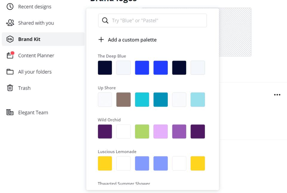 Creating a Brand Kit