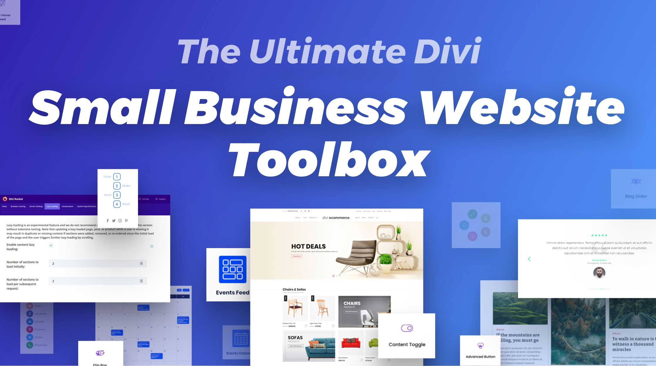 "How to Build the Ultimate ""Small Business Website Toolbox"" from the Divi Marketplace"