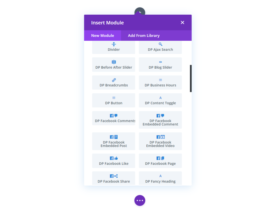 Divi Plus Modules