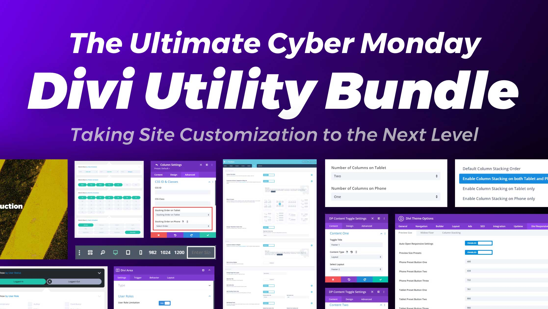 "Get the Ultimate ""Divi Utility Kit"" from the Marketplace"
