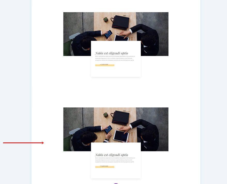 trigger image transitions