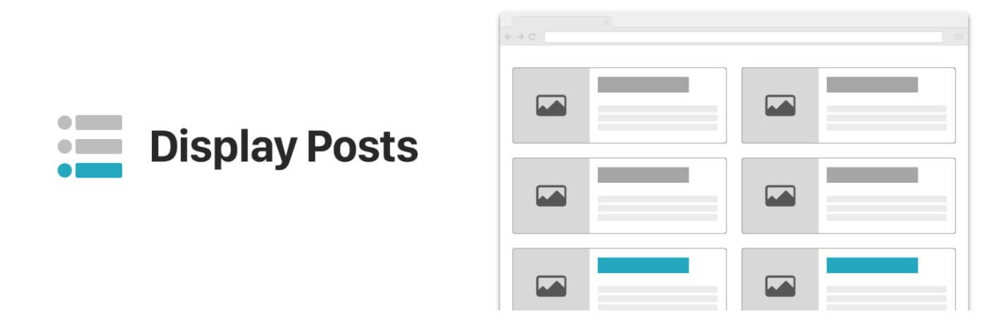 The Display Posts popular posts plugin.