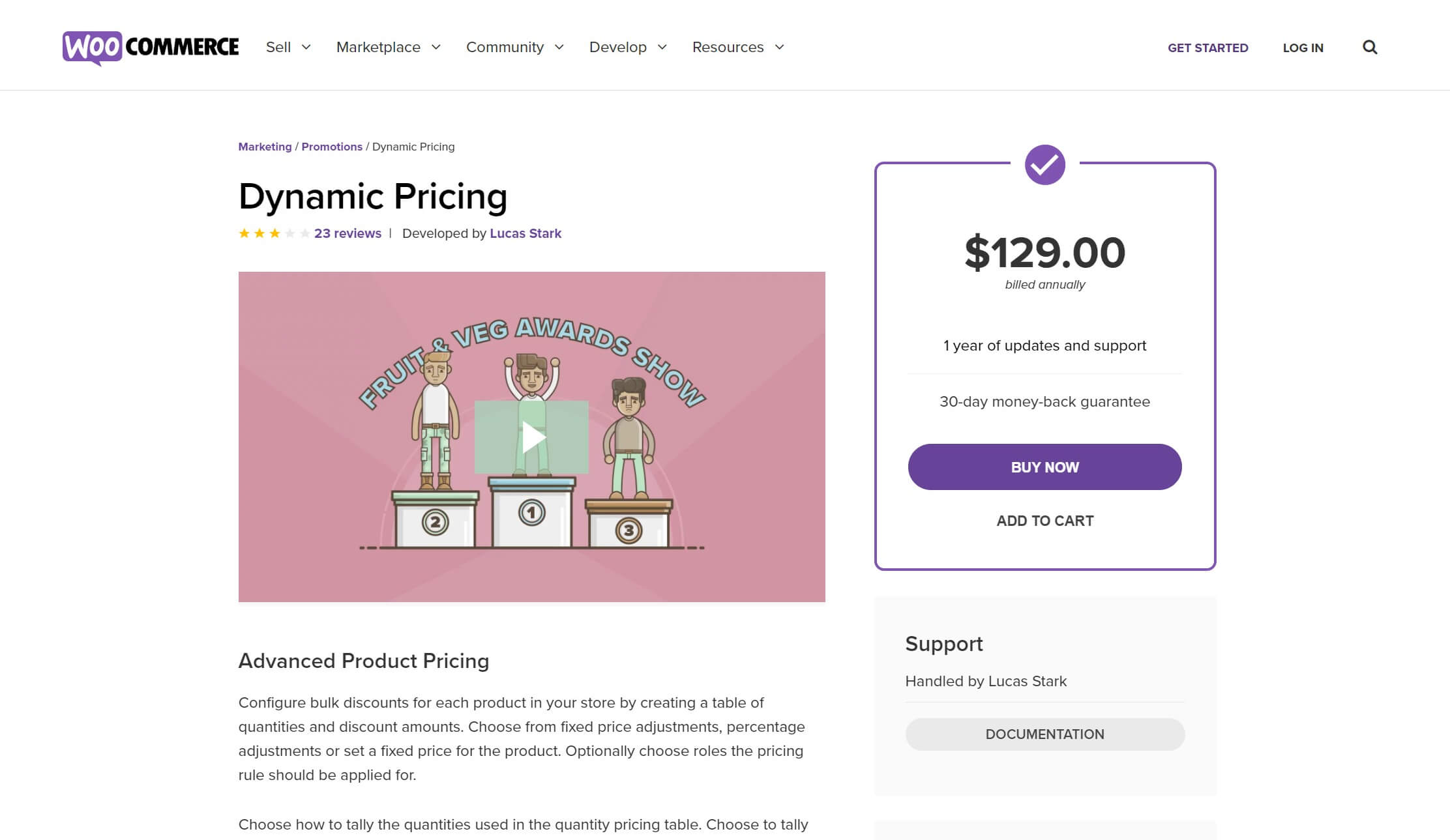 Le plugin WooCommerce Dynamic Pricing.