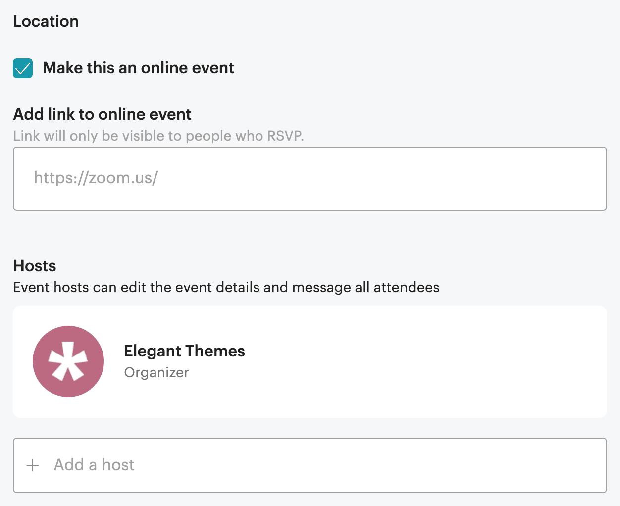 meetup event creation 2