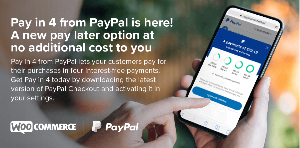 PayPal for WooCommerce.