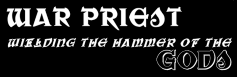 war priest font