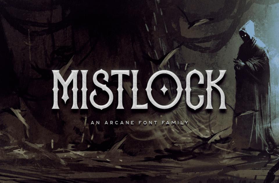 mistlock fantasy font