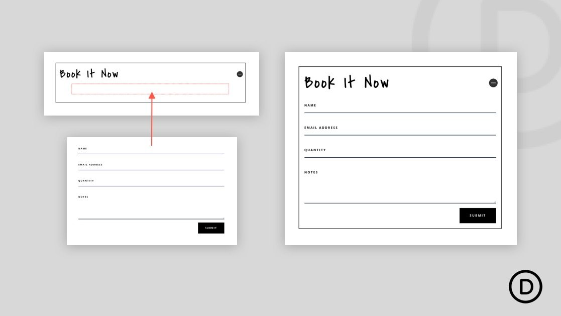 How to Insert Divi Modules or Rows inside Other Divi Modules (without a Plugin)