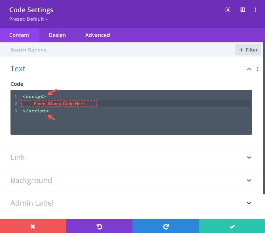 insert divi modules or rows into other modules
