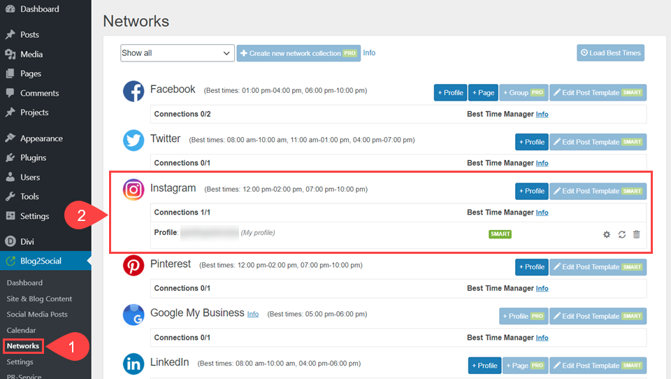 create settings pages wordpress