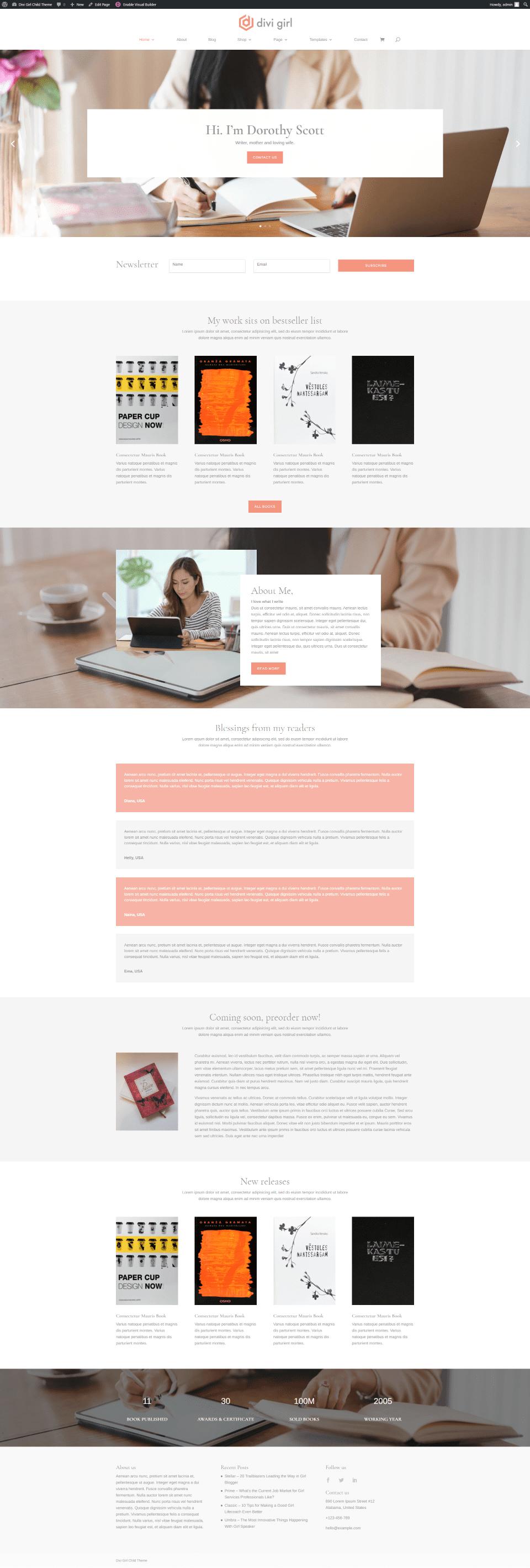Author Homepage