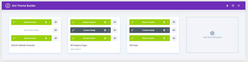DiviHvac Theme Builder Layouts