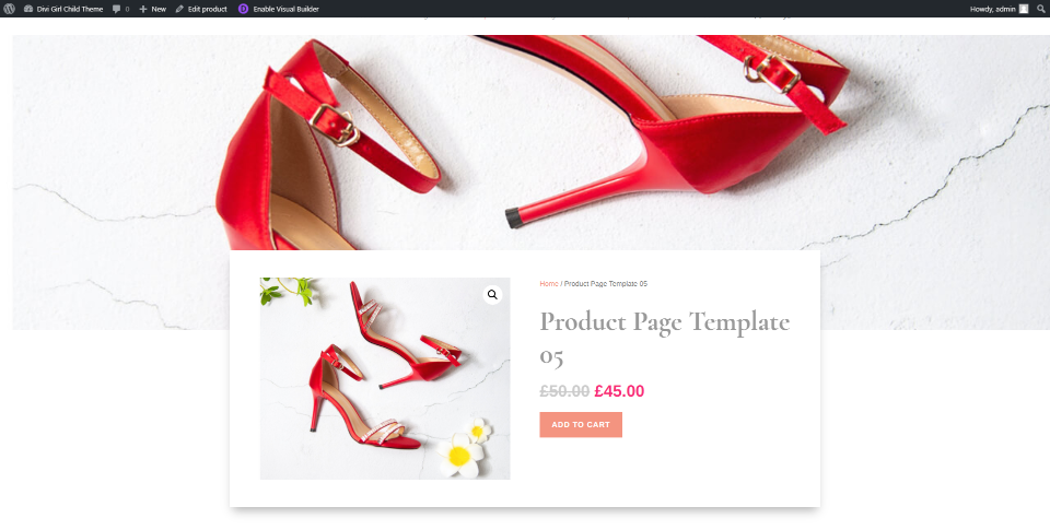 Product Template Five