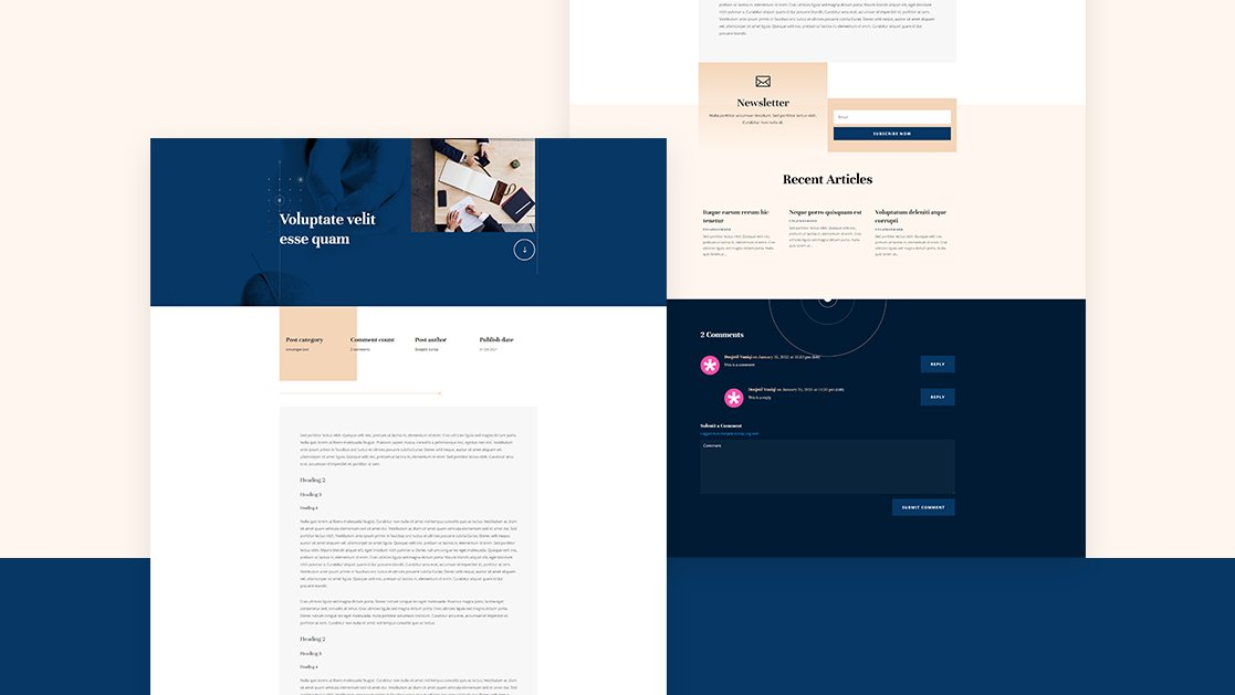 Download a FREE Blog Post Template for Divi's Acupuncture Layout Pack