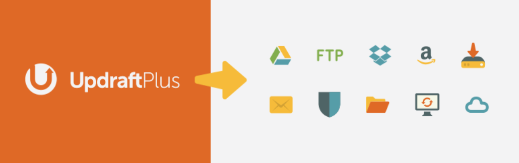 The UpdraftPlus plugin, one of our Dropbox WordPress plugins.