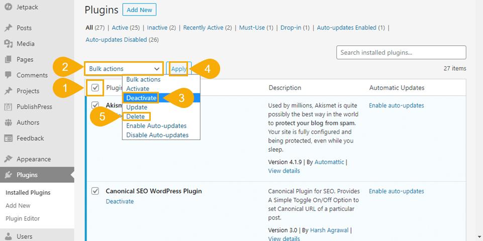 customize theme wordpress how to go back