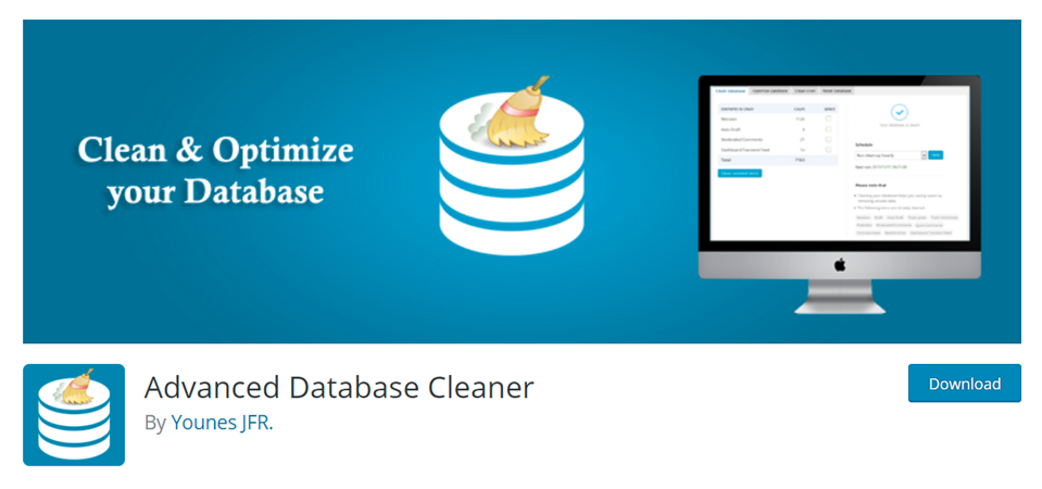 advanced database cleaner plugin