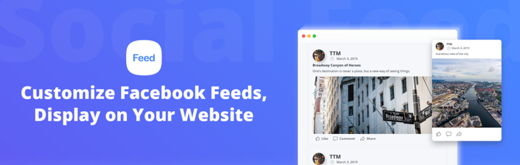 The 10Web Social Post Feed plugin