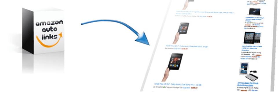 Liens automatiques Amazon