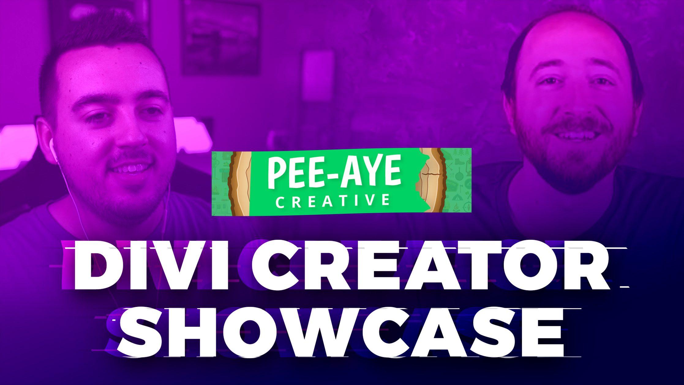Divi Creator Showcase: Pee-Aye Creative