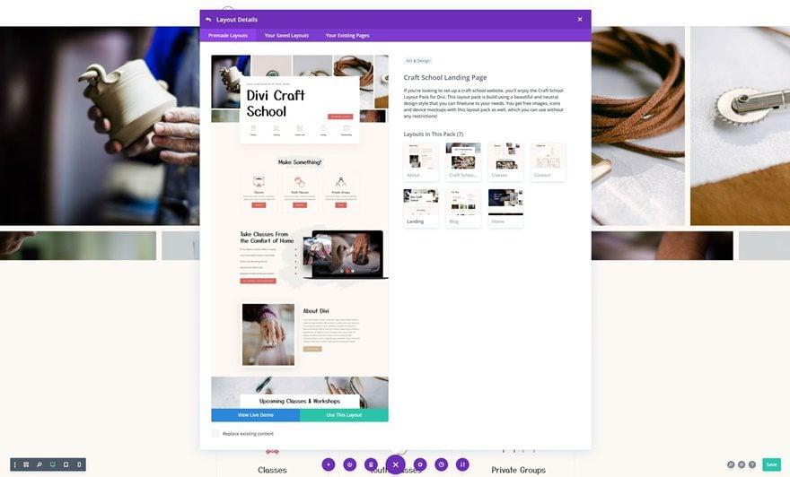 craft school website