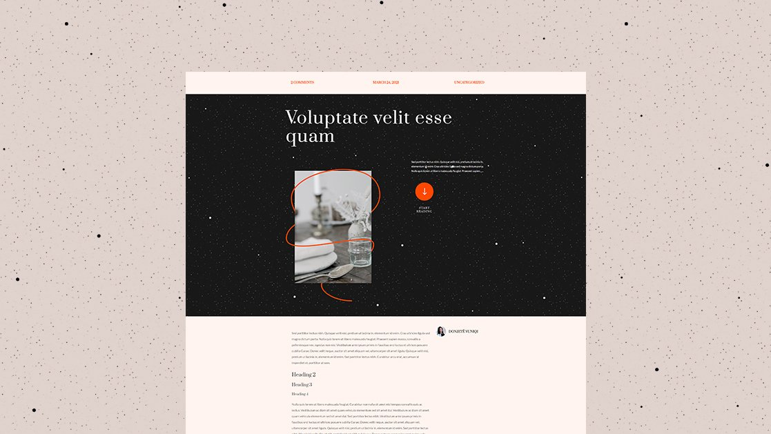 Download a FREE Blog Post Template for Divi's Event Venue Layout Pack