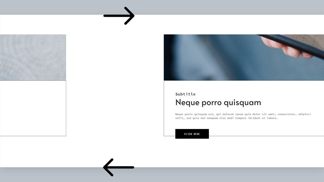 How to Automatically Scroll Horizontally When Scrolling Vertically with Divi & GSAP