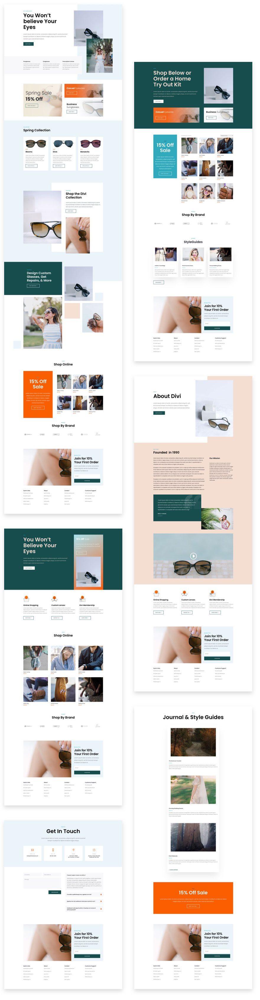 sunglasses shop website