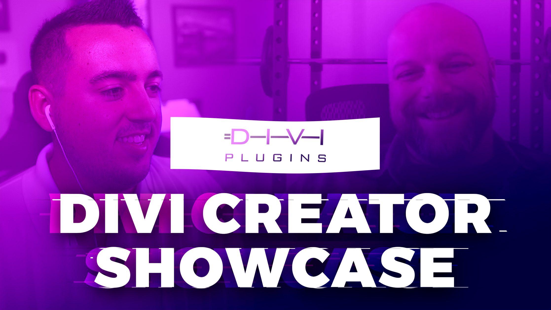 Divi Creator Showcase: Divi Plugins
