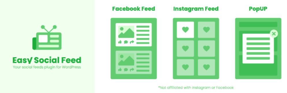 The Easy Social Post Feed plugin