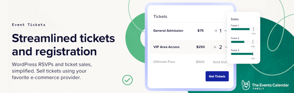 The Event Tickets plugin.