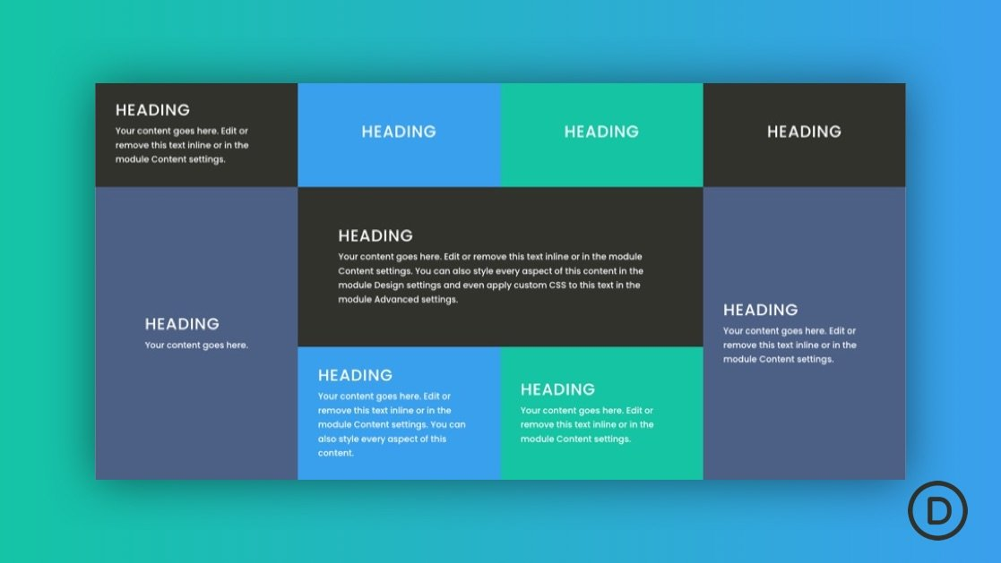How to Create a CSS Grid Layout for Divi Modules
