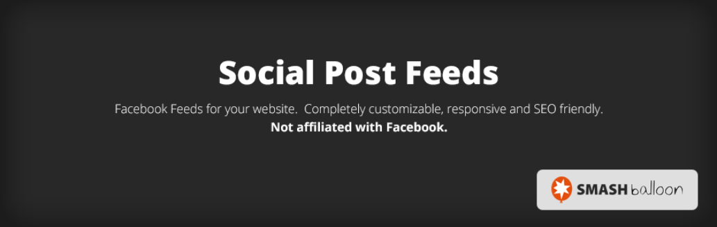 The Social Post Feeds plugin