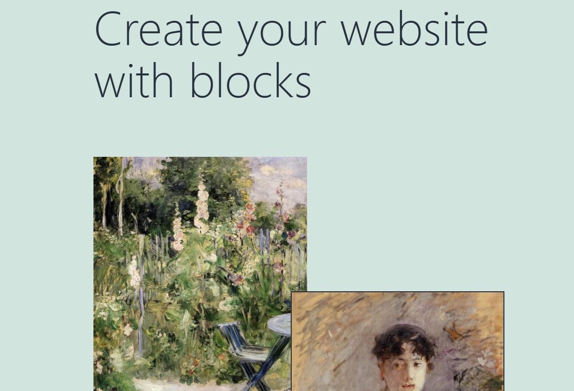 The 2021 default WordPress theme