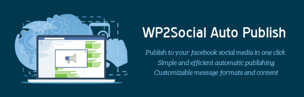 The WP2Social Auto Publish Facebook plugin for WordPress