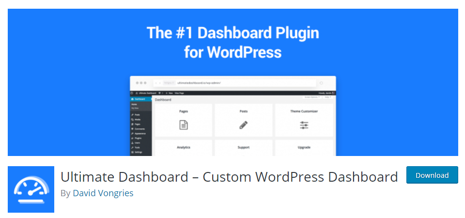 ultimate dashboard plugin
