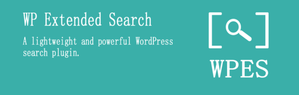 WP Extended Search