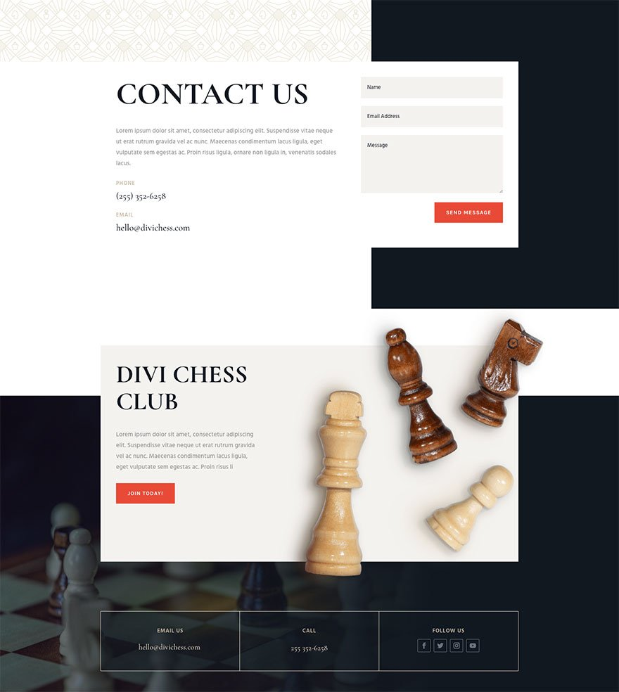 chess club website