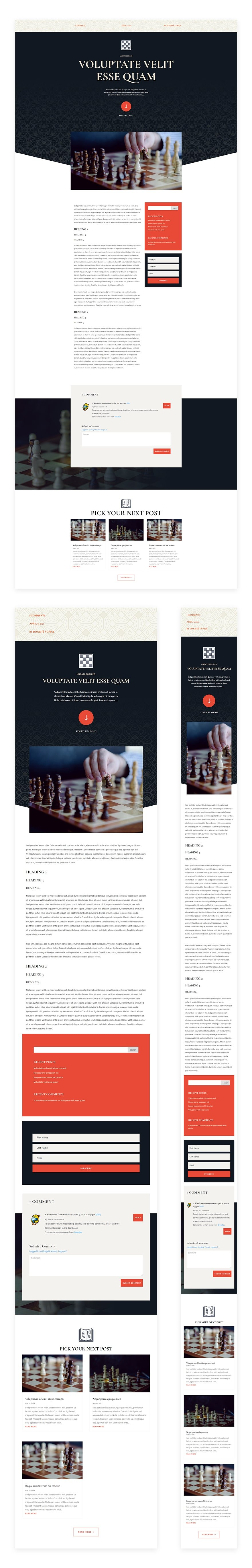 chess club blog post template