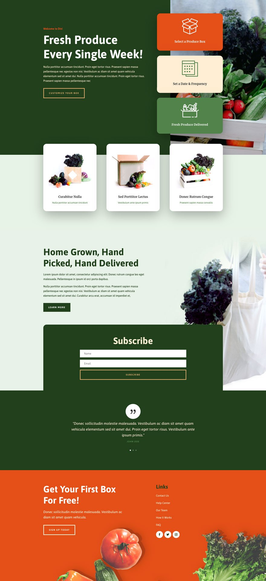 produce box website