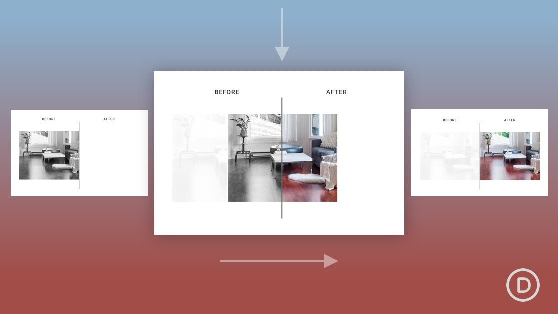 How to Create Scroll Animated Before and After Images in Divi