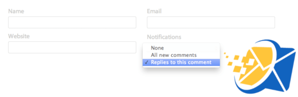 The Subscribe Comments Reloaded plugin.